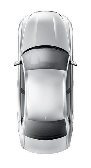 Car above